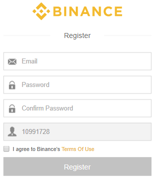 Binance Exchange Register.PNG