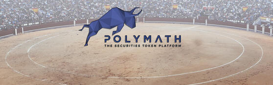 Polymath (POLY) coin logo wallpaper background