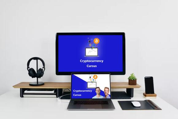 Cryptocurrency cursus afbeelding