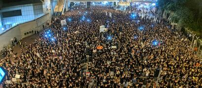 Protesten in Hong Kong